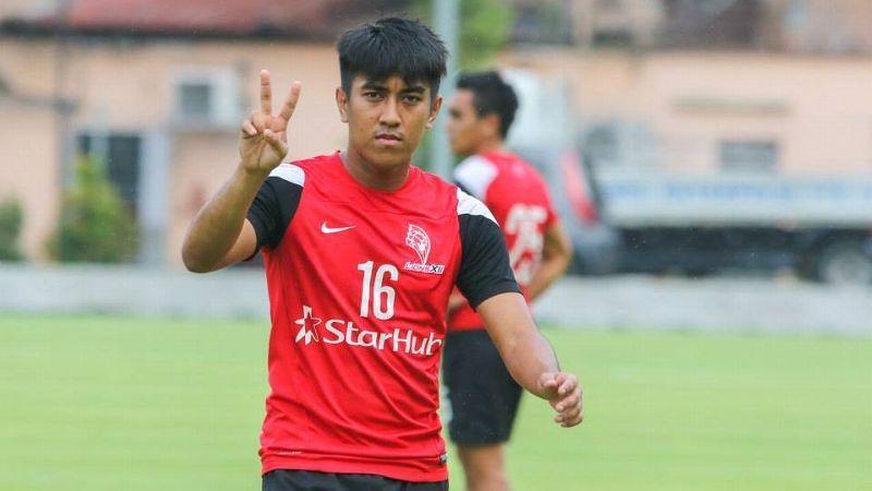 LionsXII midfielder Raihan Rahman