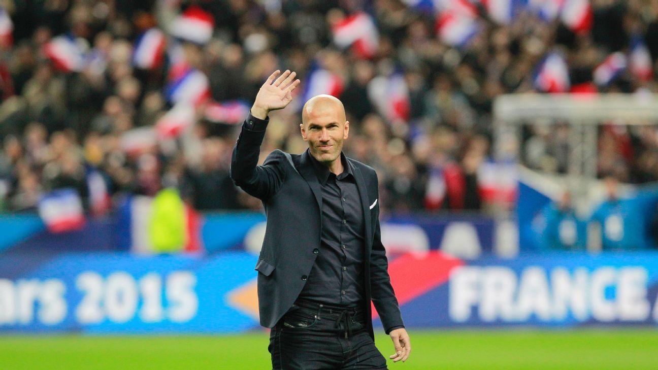 Zinedine Zidane preparing for management at Real Madrid