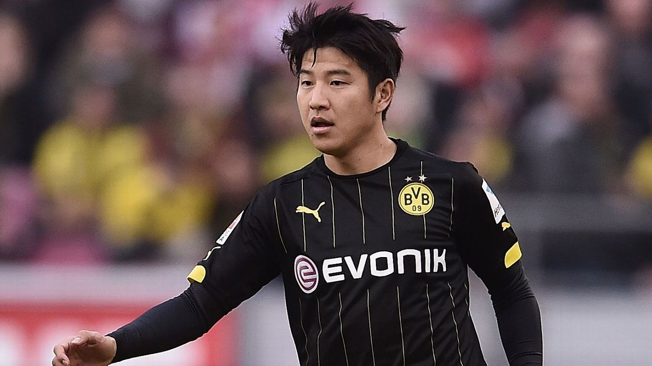 Joo-Ho Park lasted only the first 45 minutes for Dortmund.