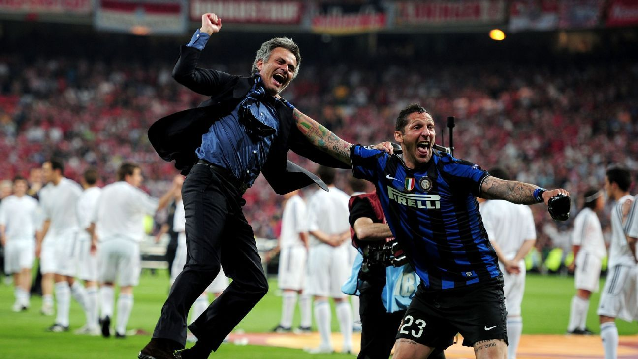 Jose Mourinho & Marco Materazzi