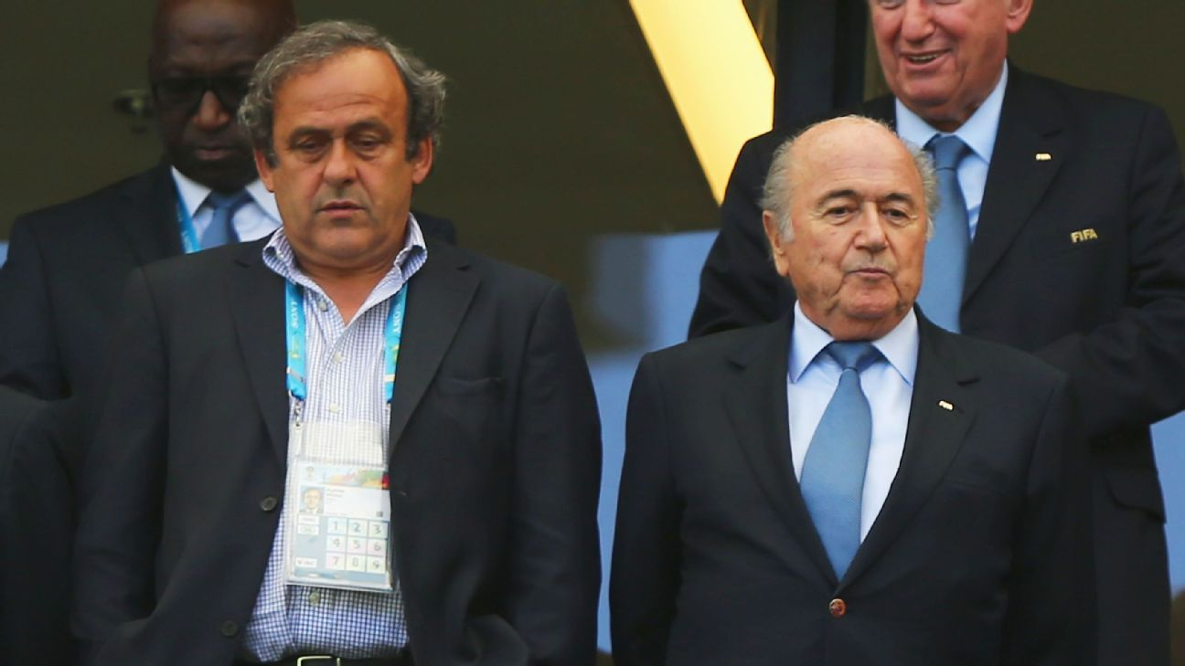 Michel Platini Sepp Blatter the most selfish person I have seen