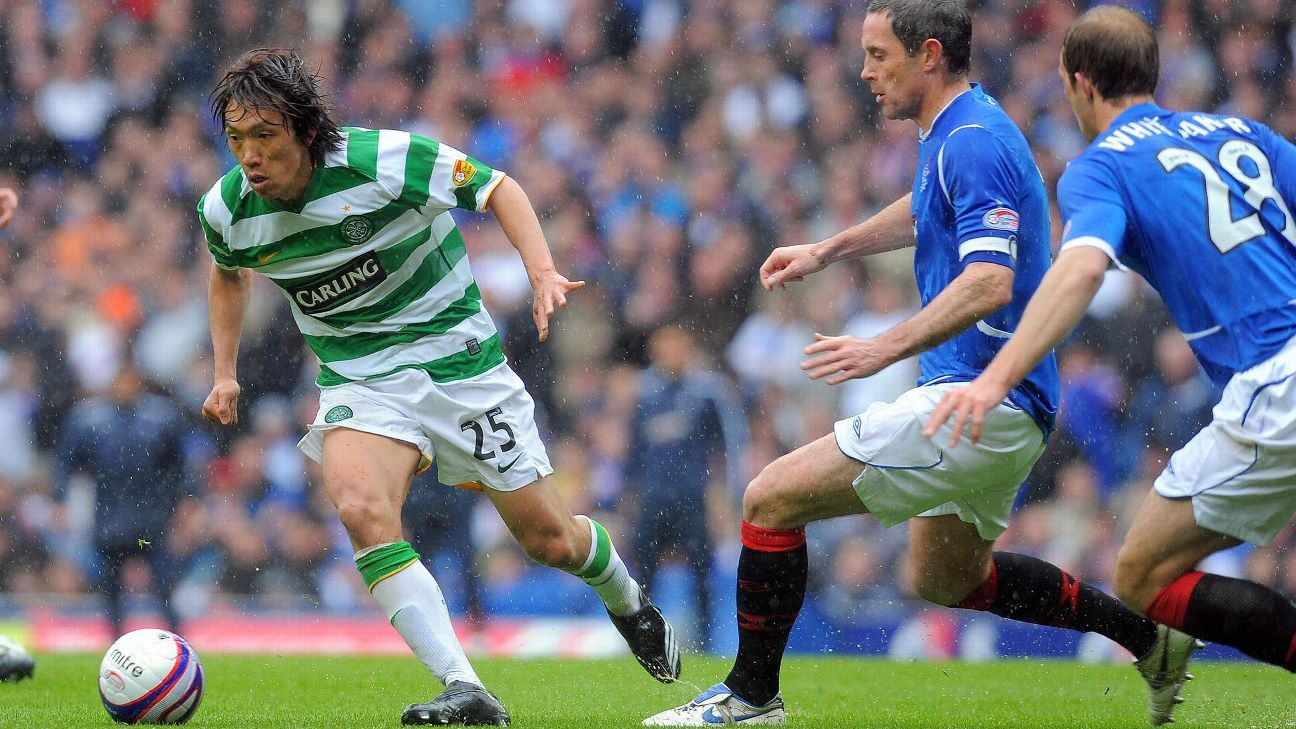 Celtic midfielder Shunsuke Nakamura