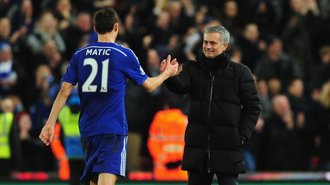 Jose Mourinho is said to be keen on a reunion with Nemanja Matic.
