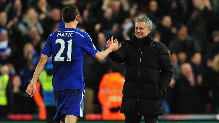 Jose Mourinho is said to be keen on a reunion with Nemanja Matic.