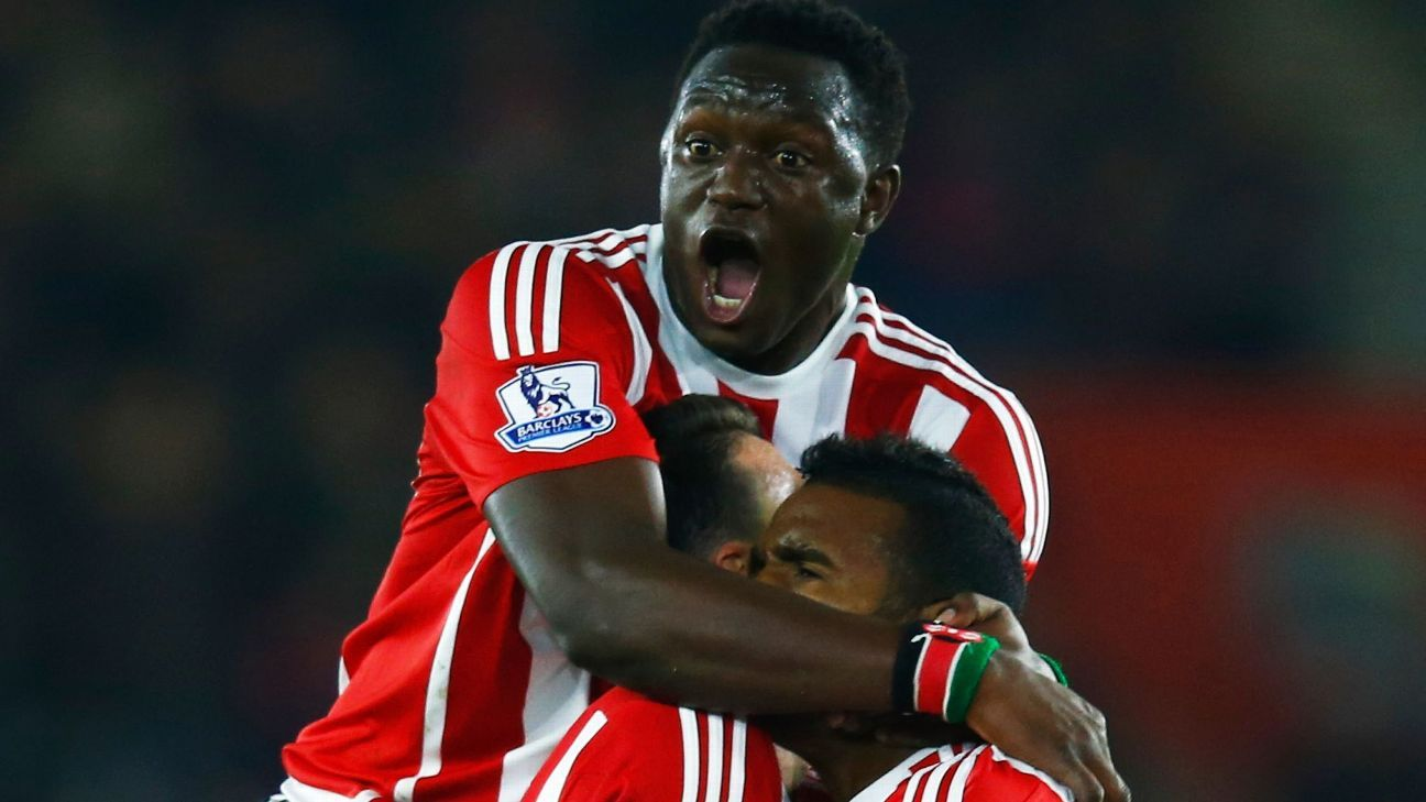 Southampton's dominating performance in midfield kept the Gunners in check.