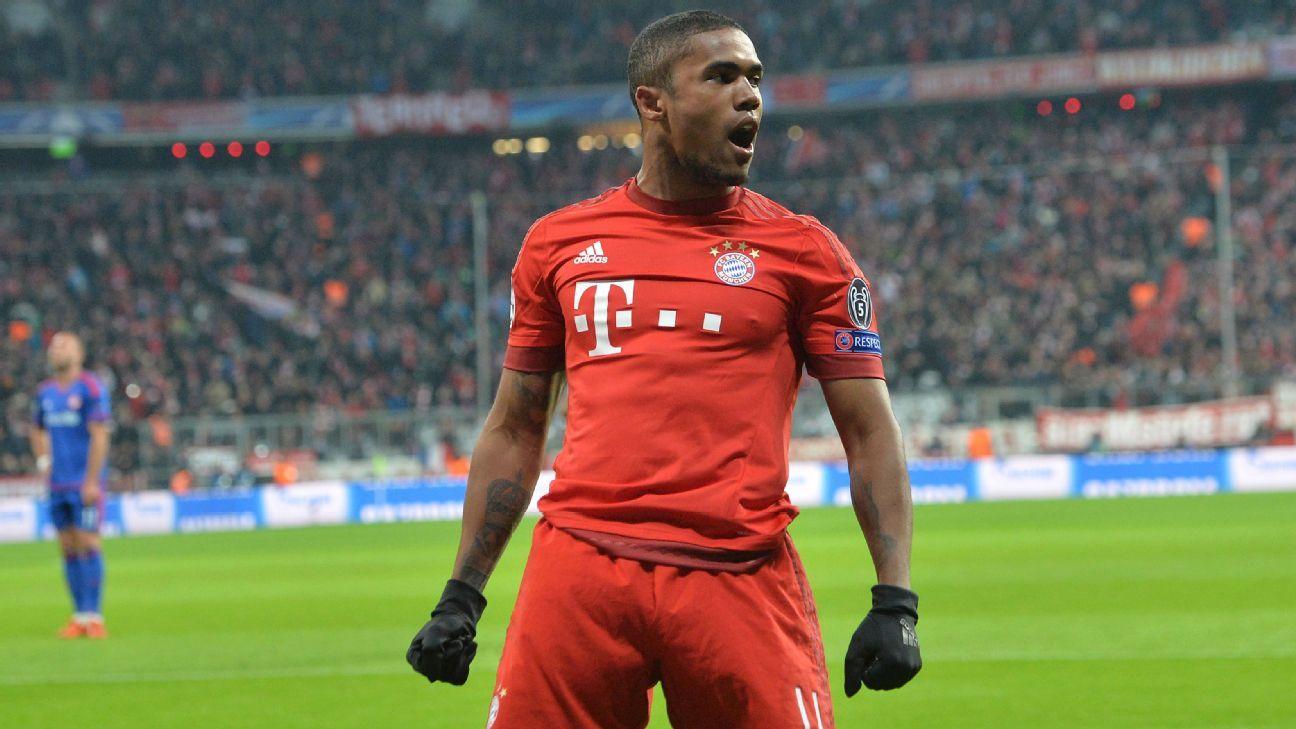 Douglas Costa pletes loan move from Bayern Munich to Juventus