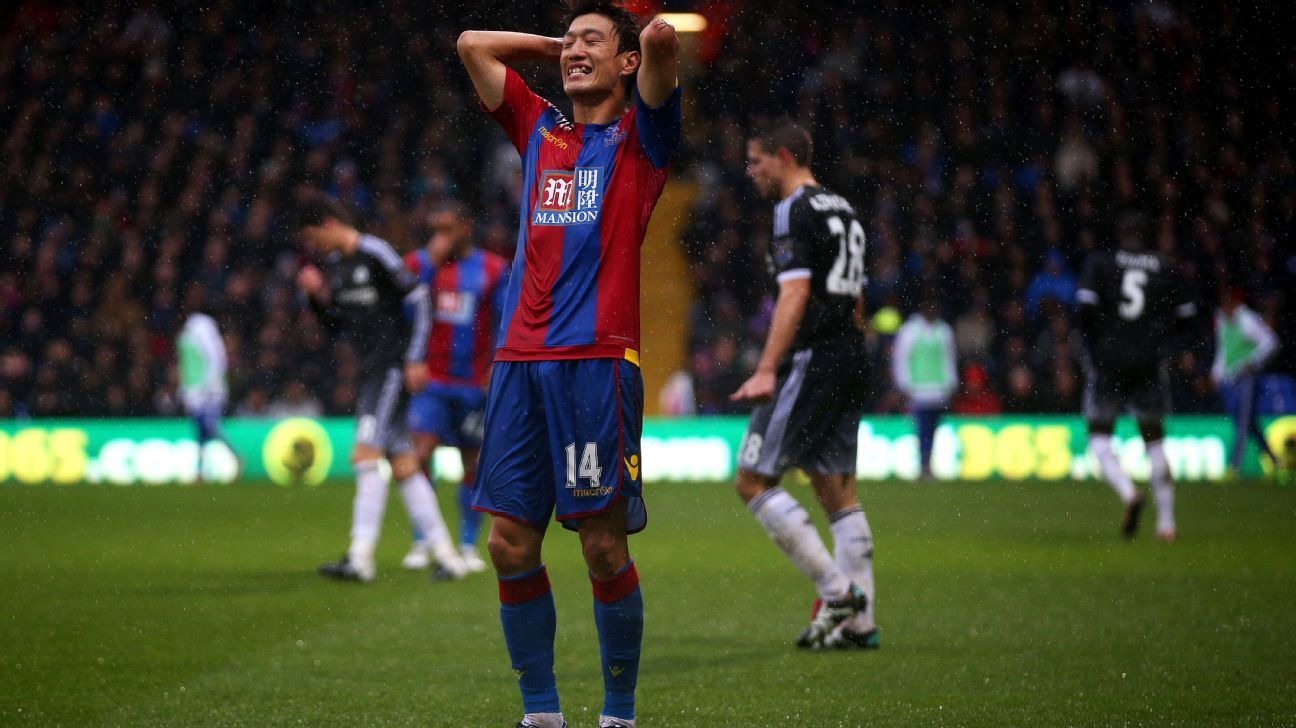 From back to front, it was a frustrating day for Lee Chung-yong and Crystal Palace vs. Chelsea.