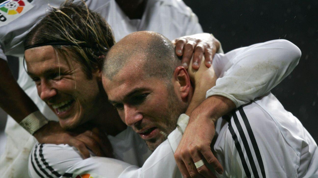 David Beckham & Zinedine Zidane