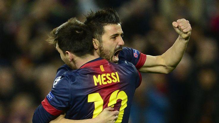 move David up  Atletico about Madrid Barcelona Villa opens