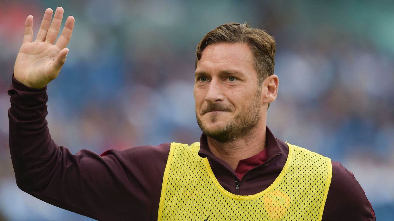 Rumours Totti will play for Roma for free are an insult ESPN FC