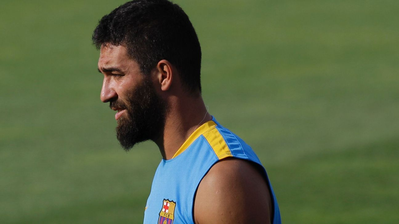 Arda Turan is expected to get his first crack in a Barcelona shirt in the club's Copa del Rey round of 16 tie vs. Espanyol.