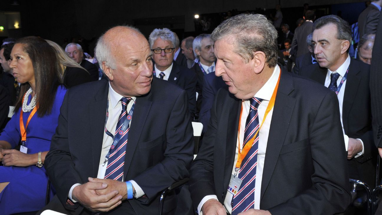 Greg Dyke & Roy Hodgson