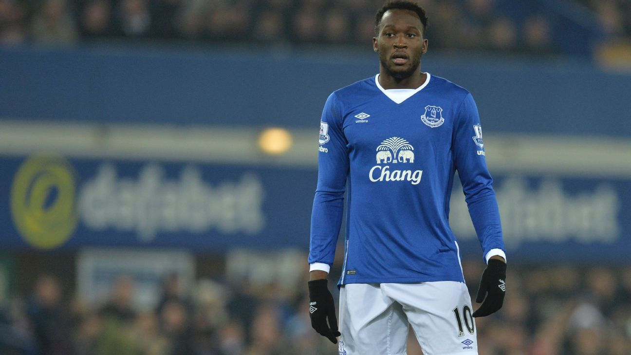 Romelu Lukaku had a hand in both Everton goals against Manchester City.
