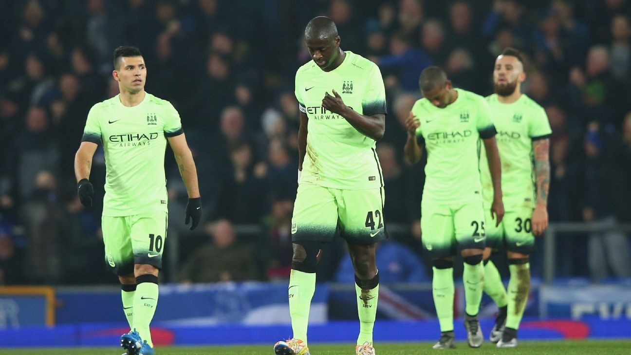 There were few highlights from Manchester City in Wednesday's Capital One Cup semifinal loss to Everton.