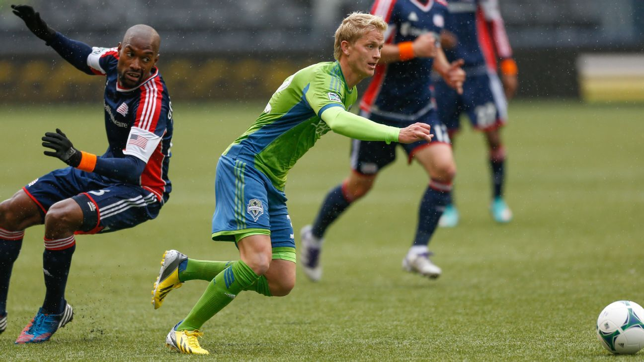 Former Seattle Sounders attacker Philip Lund