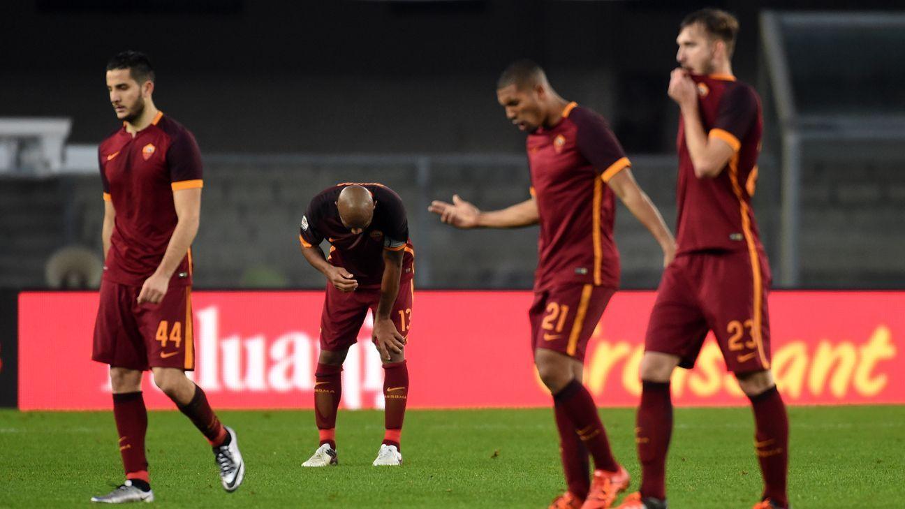 Roma woe v Chievo
