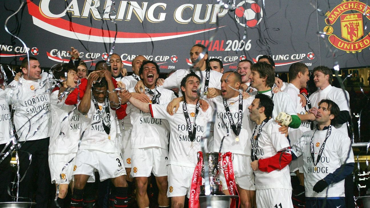 Manchester United's 2006 League Cup triumph was the start of another title-rich era for the club.