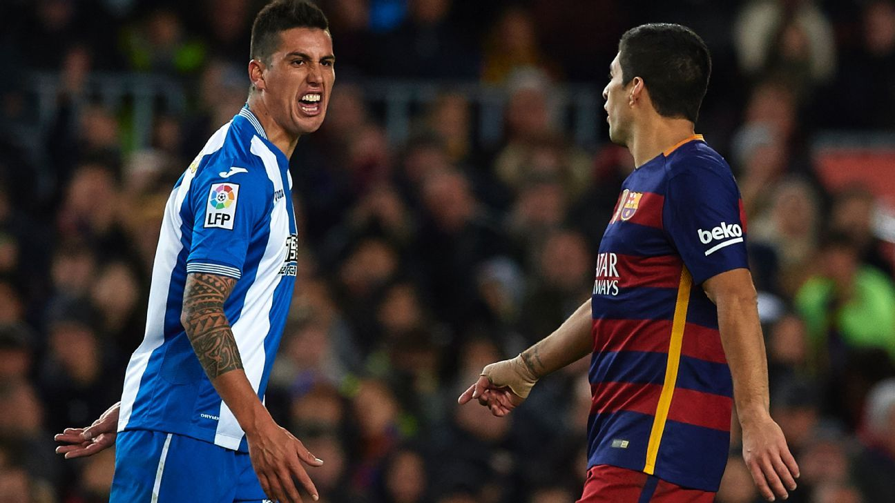 Wednesday's Copa del Rey last 16 first leg against Espanyol was largely an acrimonious affair for Luis Suarez and Barcelona.