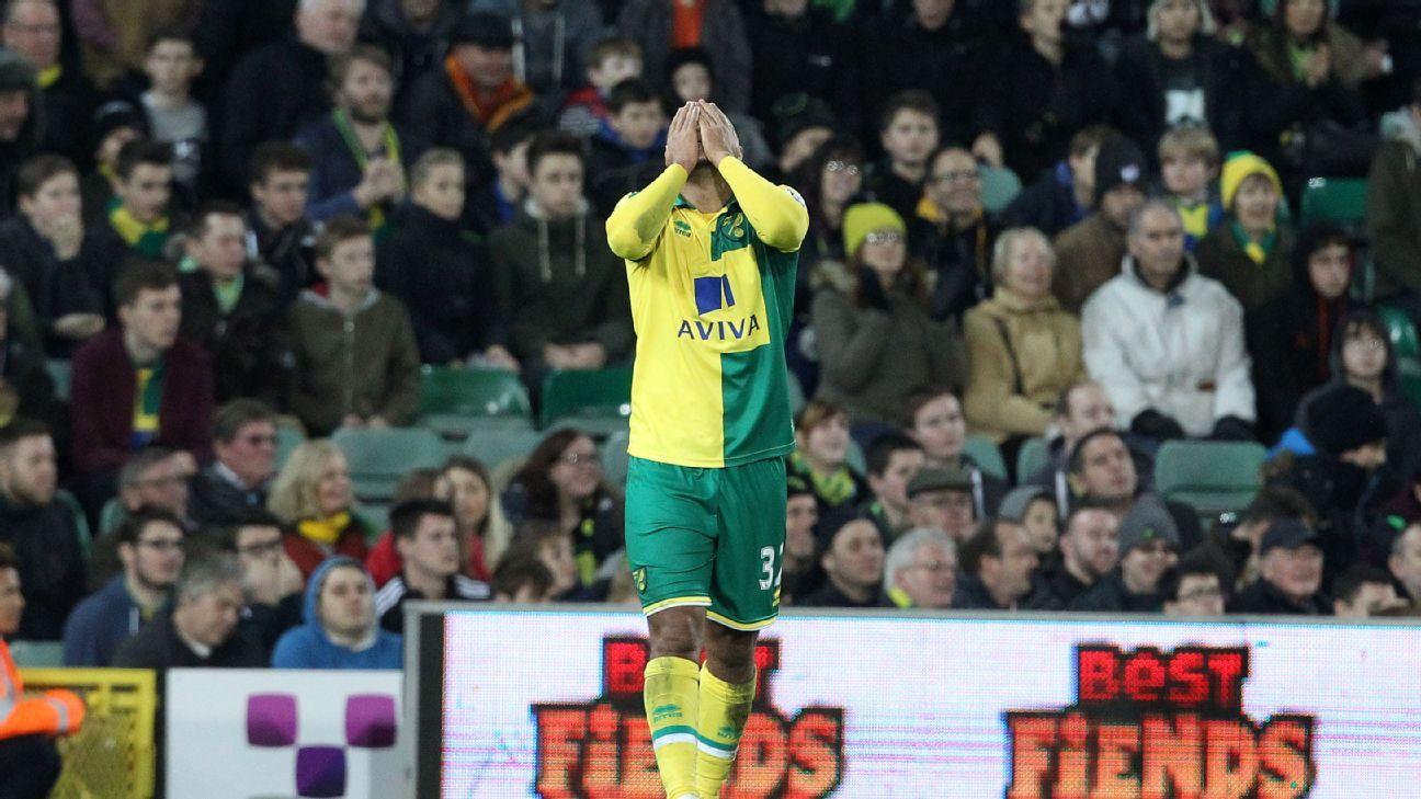 It was not Norwich City's day as they conceded twice in the first 31 minutes in their 3-0 FA Cup loss to Manchester City.