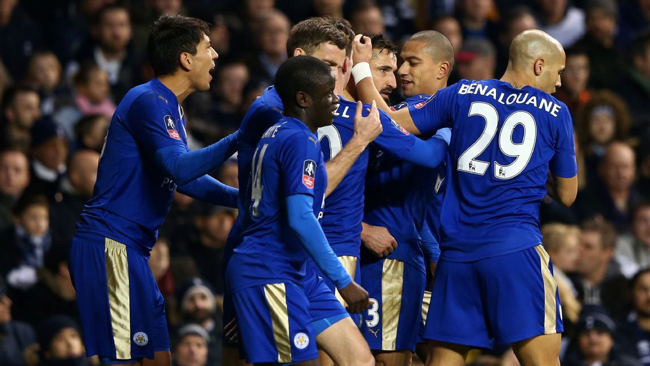 Four days after their thrilling cup clash, Leicester City renew acquaintances with Tottenham.