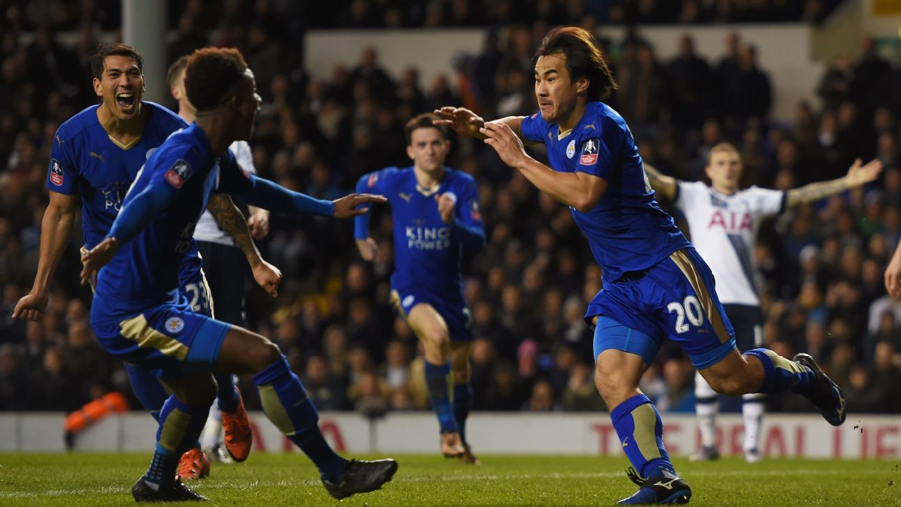 Leicester can go top of the table by day's end on Saturday with a victory at Villa Park.