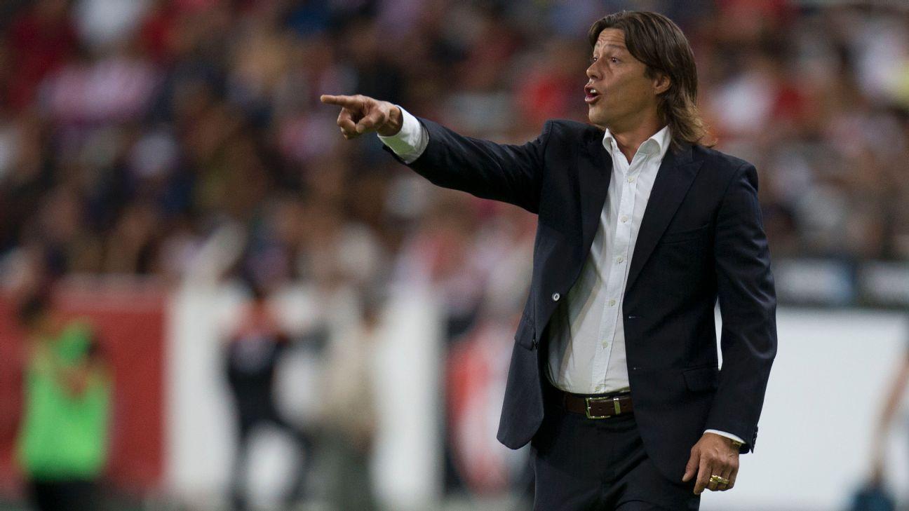 Chivas coach Matias Almeyda