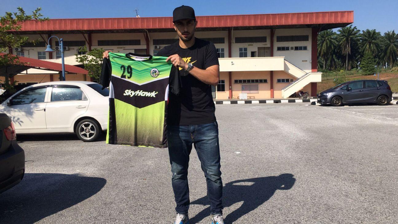 Kuala Lumpur FA midfielder Mario Karlovic
