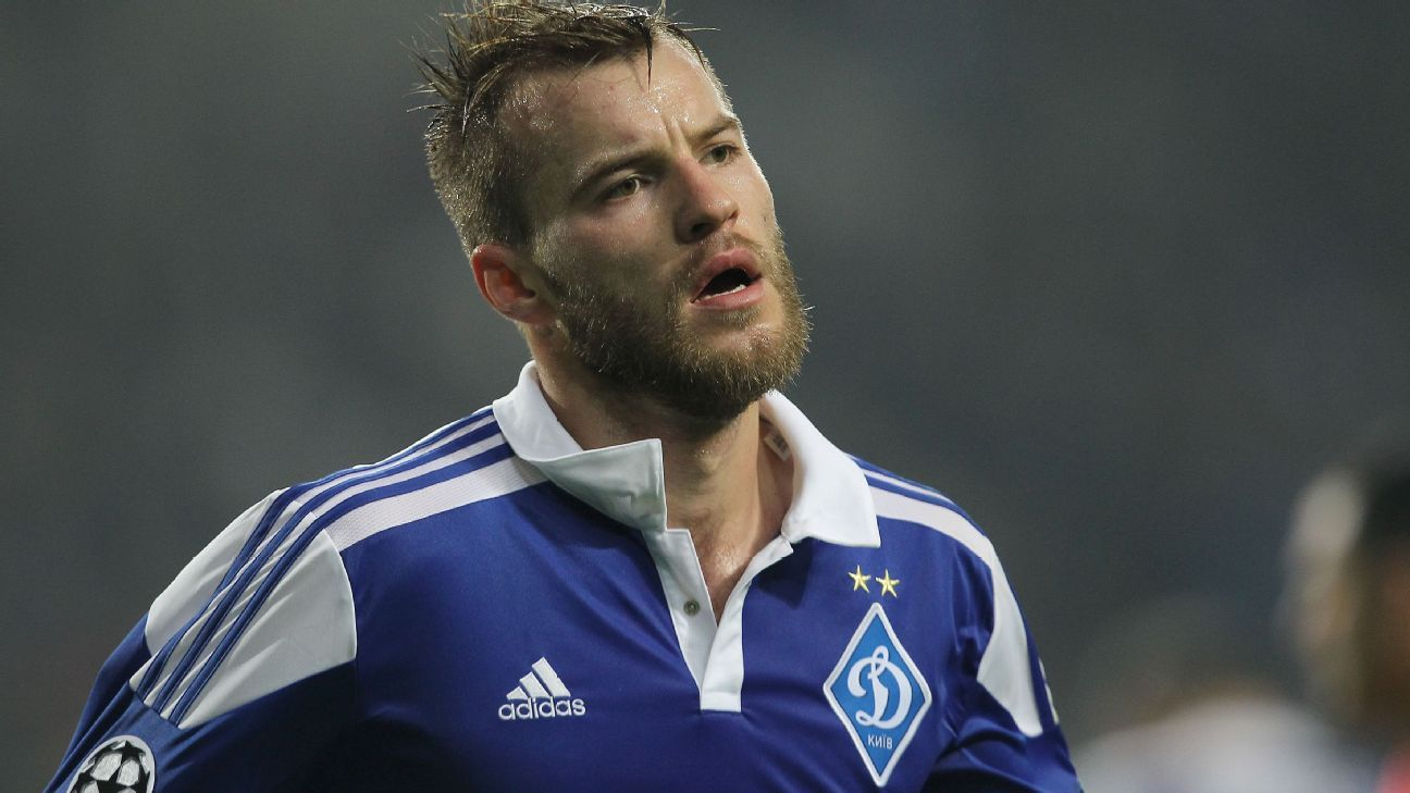 Despite attracting interest from Premier League clubs, Andriy Yarmolenko looks set to stay with Dynamo Kiev for the long term.