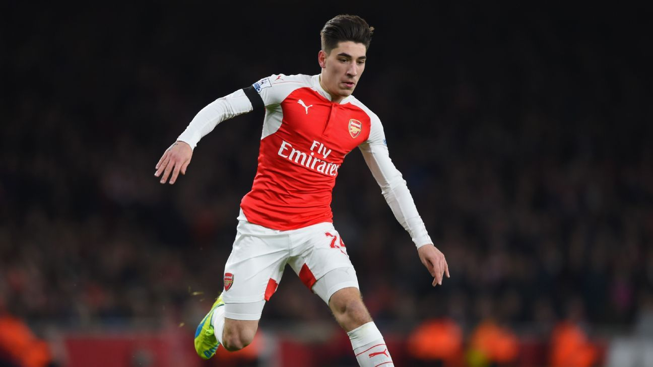 Hector Bellerin had a standout season for the Gunners.