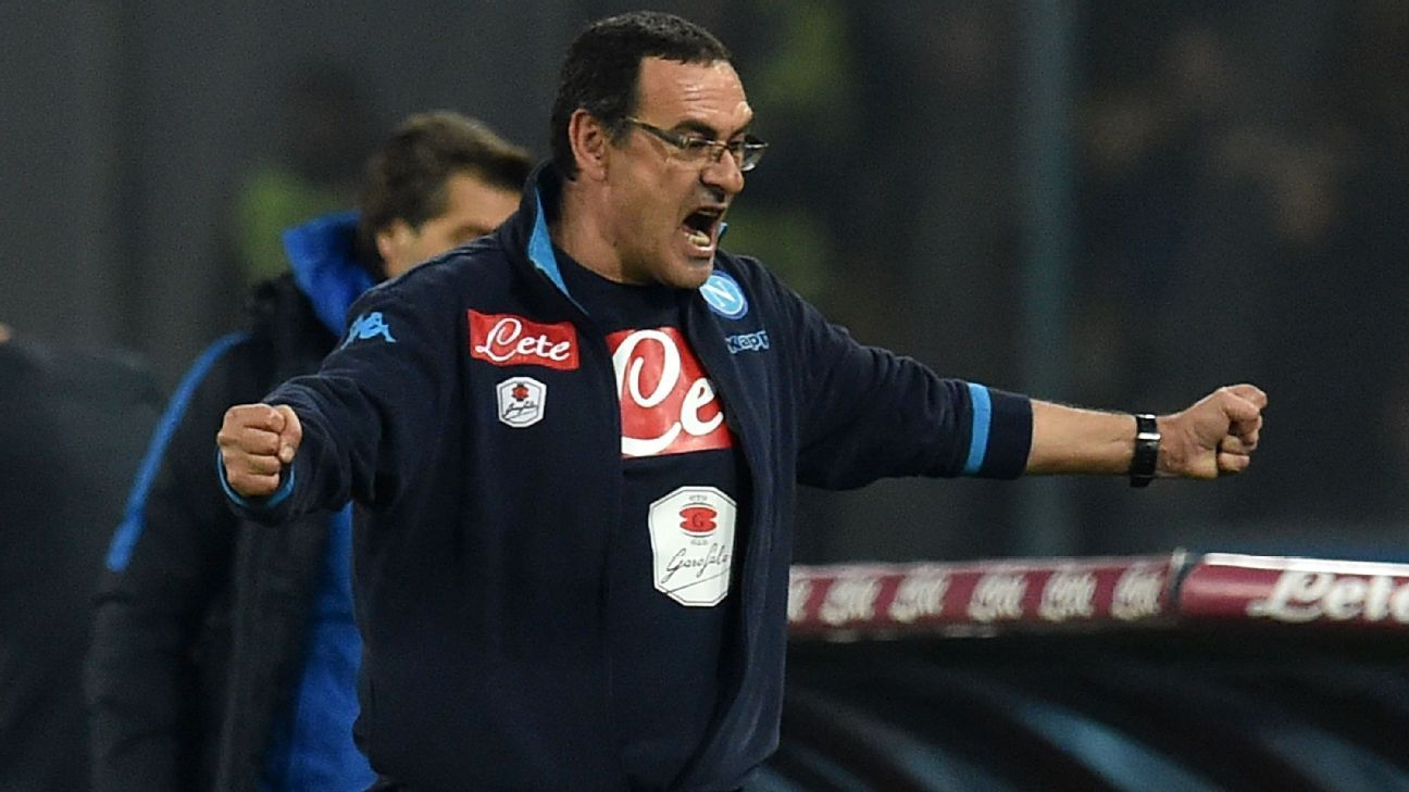 Maurizio Sarri has Napoli dreaming of their first Serie A title in 26 years.