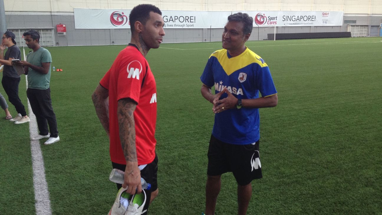 Tampines Rovers winger Jermaine Pennant