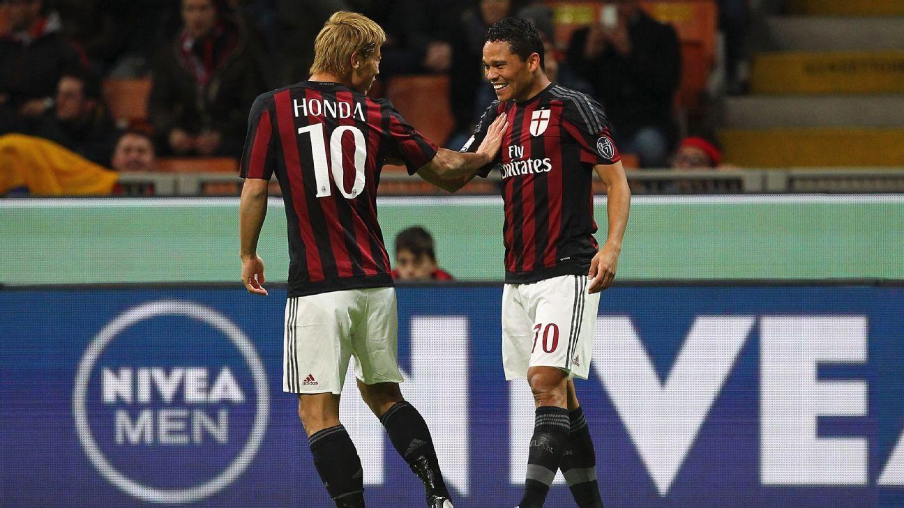 AC Milan Celeb Bacca Honda 20150113