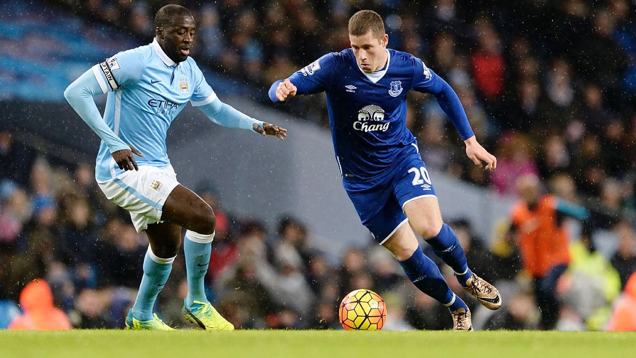 Yaya Toure vs Everton 20150113