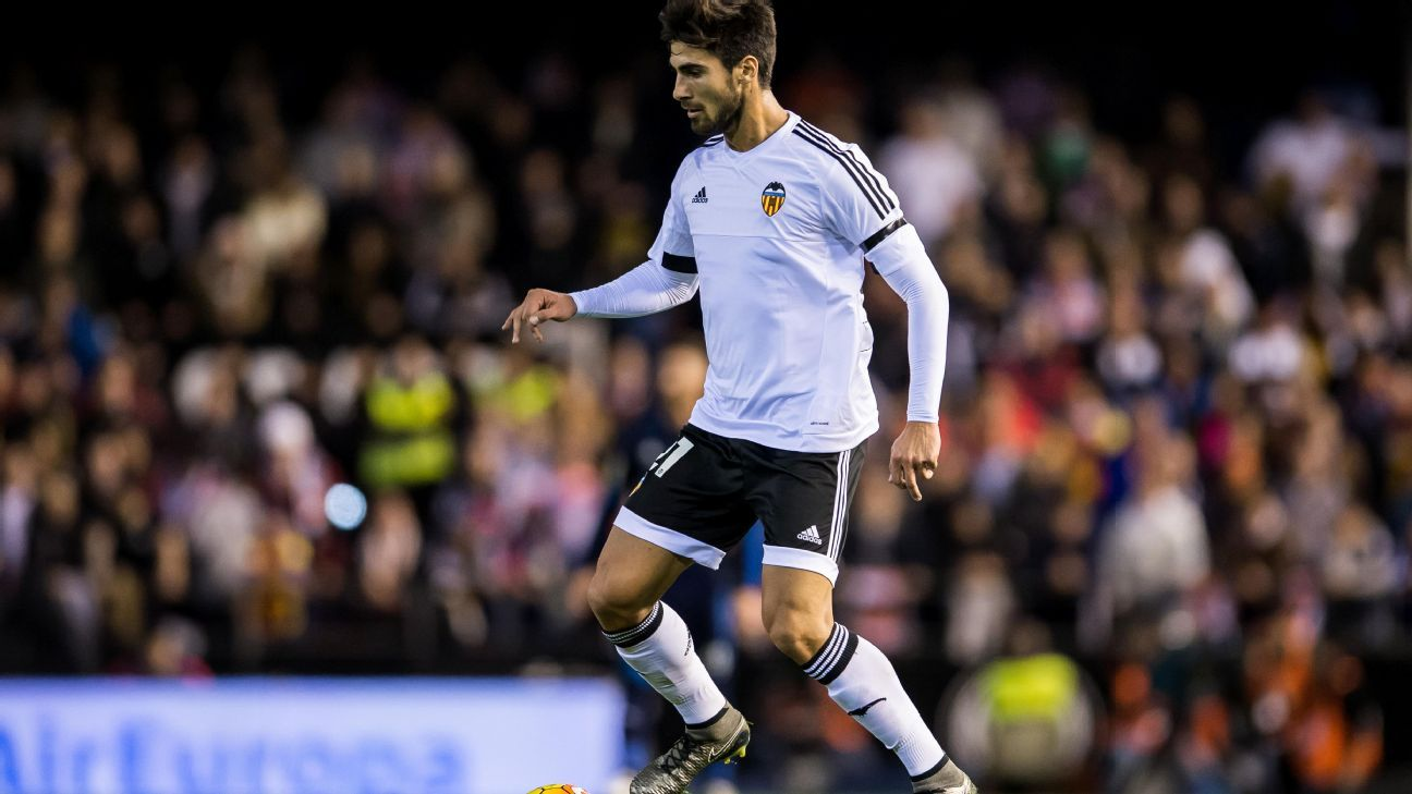 Andre Gomes made the most of his chance to impress in Valencia's hard-fought 2-2 draw with Real Madrid earlier this month.