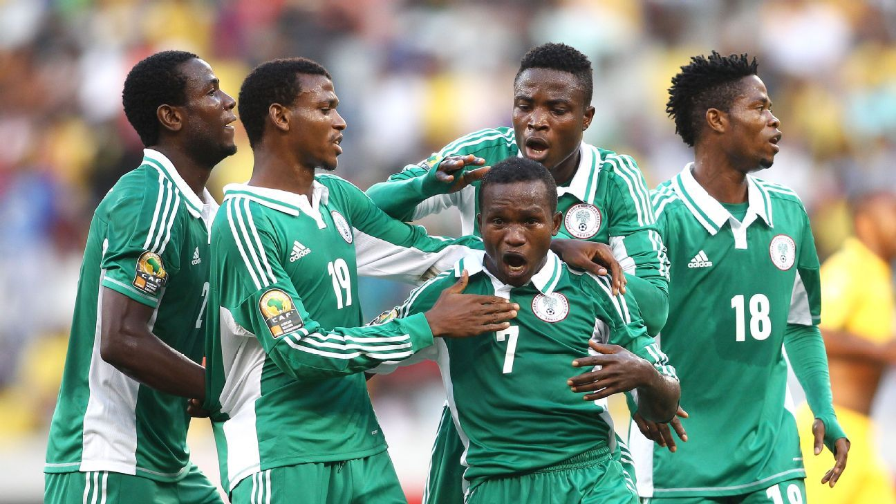 Nigeria's 2014 African Nations Championship side