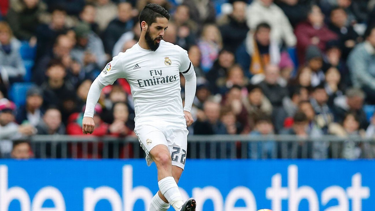 Isco is thriving at Real Madrid under new manager Zinedine Zidane.
