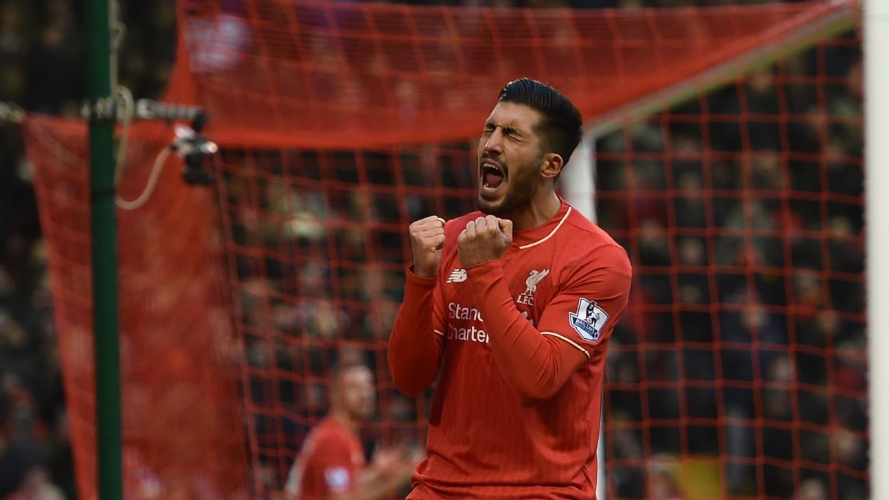 Emre Can's frustration in Sunday's loss to Manchester United all but sums of Liverpool's goalscoring shortcomings.