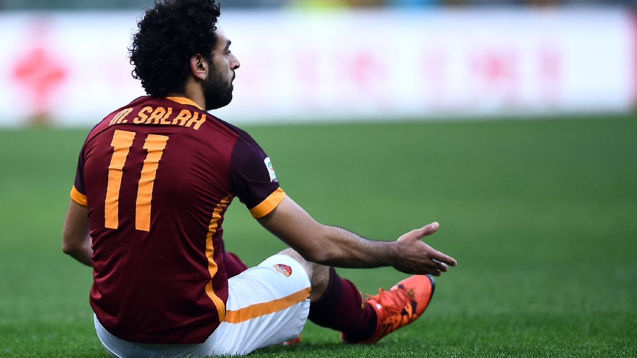 Mohamed Salah and Roma were unable to secure all three points vs. winless Hellas Verona.