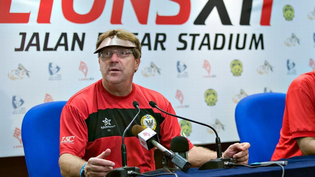 Sarawak coach Robert Alberts