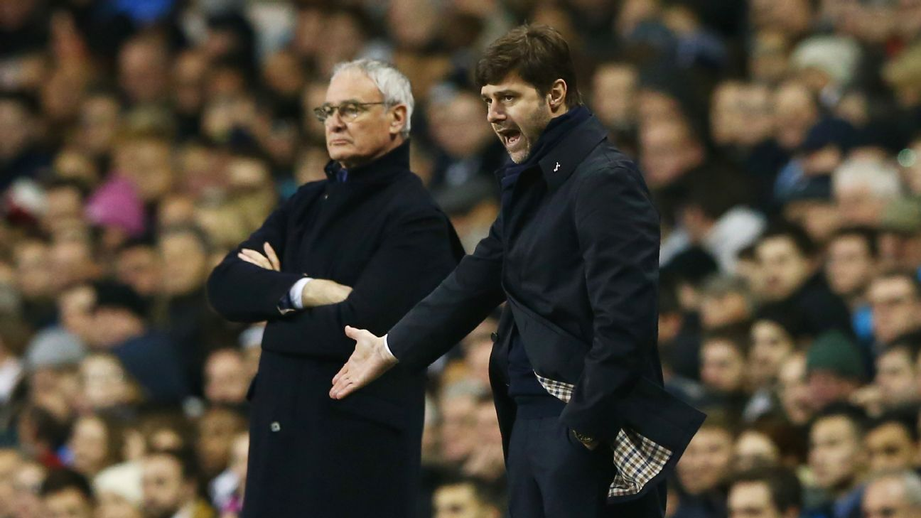 For the third time in 10 days, Tottenham manager Mauricio Pochettino will be pitting wits with Leicester boss Claudio Ranieri.