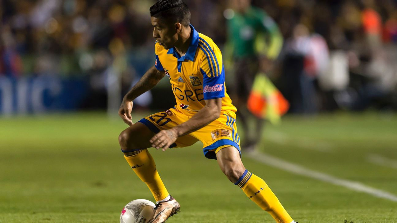 Javier Aquino helped lead Tigres to their first win of the Clausura against Morelia.