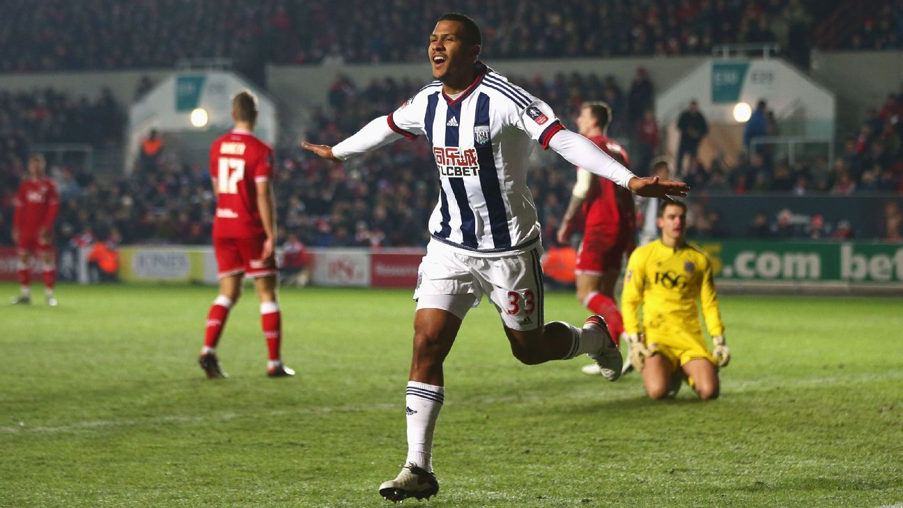 Rondon West Brom vs Bristol City FA Cup