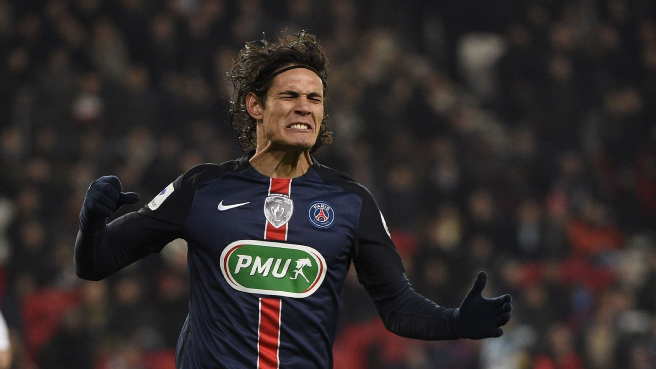 Cavani woe PSG French Cup