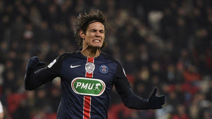 Cavani woe PSG French Cup