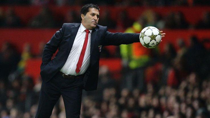 Jose Peseiro Braga coach vs Man United