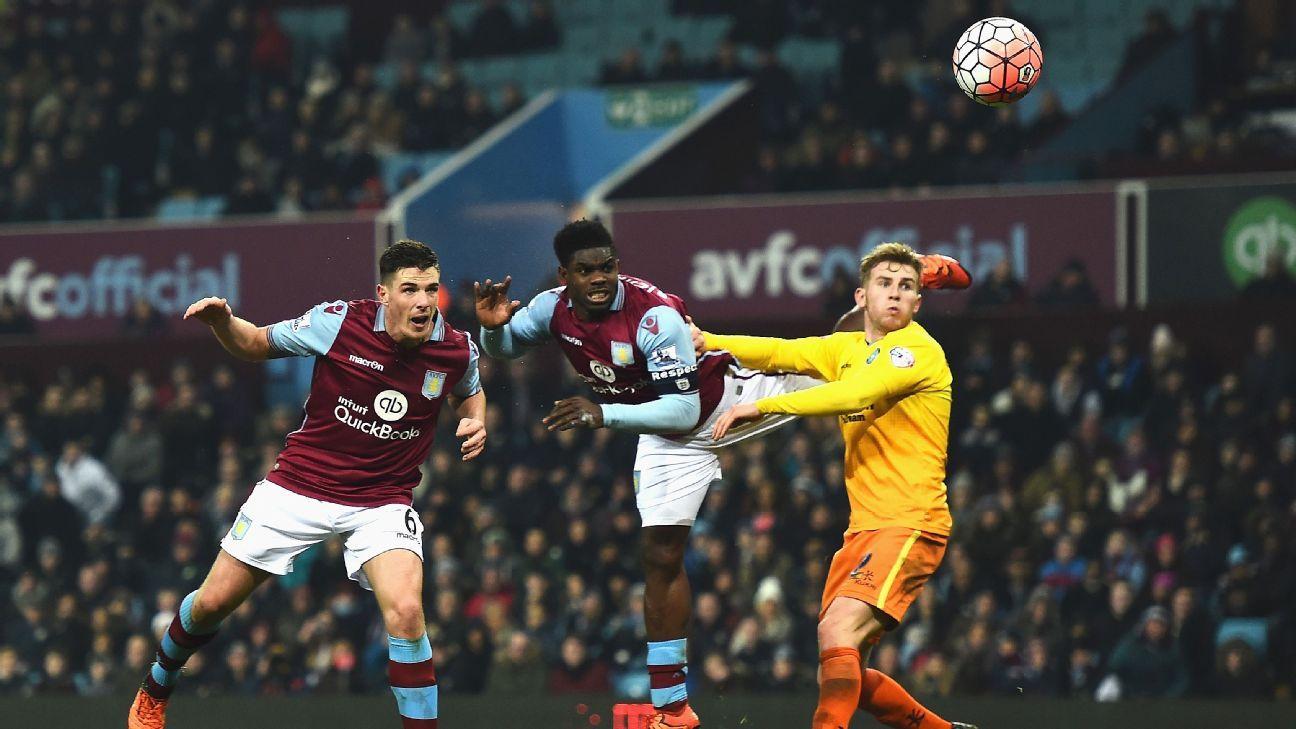 Clark Aston Villa goal FA Cup 160119