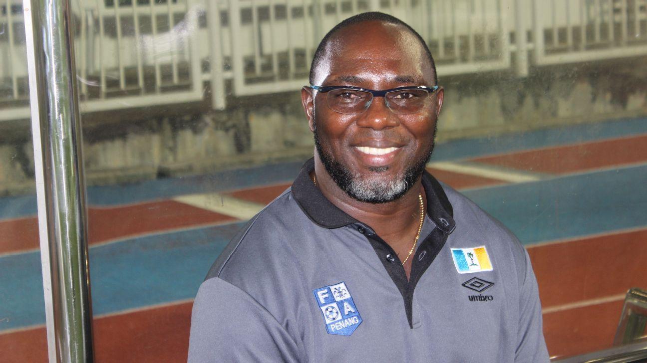 Penang coach Tiago Jacksen