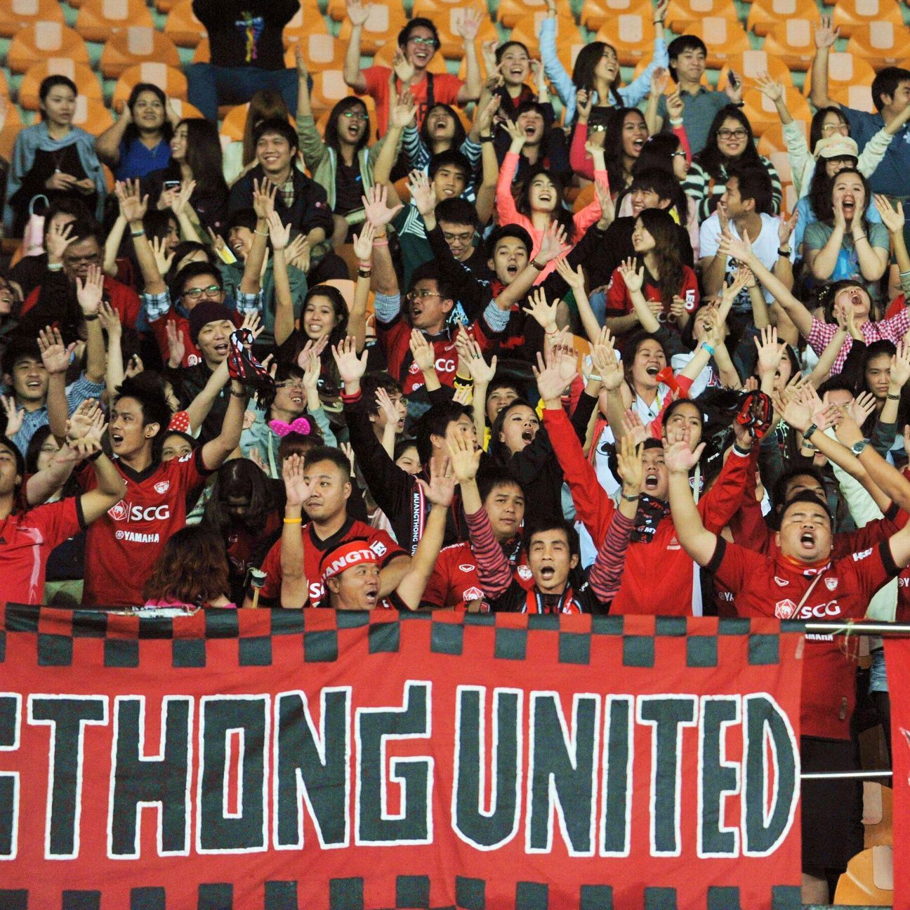Muangthong United fans