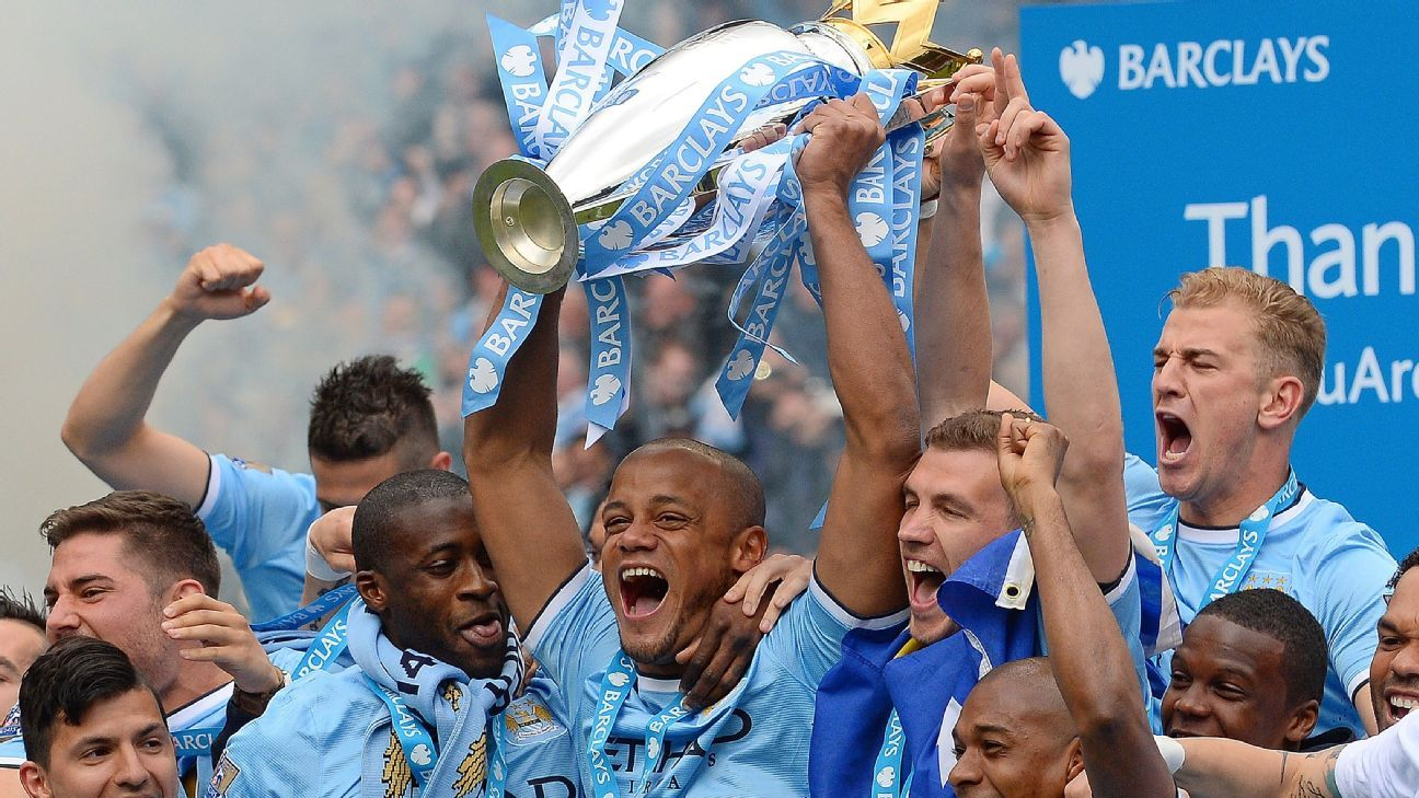 A late string of victories, combined with Liverpool's defeat to Chelsea and draw at Crystal Palace, allowed Manchester City to claim the 2013-14 Premier league title.