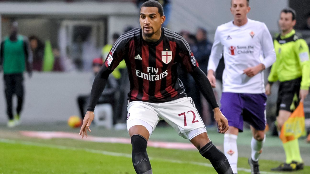 Kevin-Prince Boateng played a key role in Milan's stellar 2-0 win over Fiorentina.